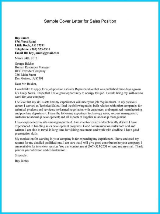 Sample Cover Letter For Resume Retail Sales Reference Pertaining ...