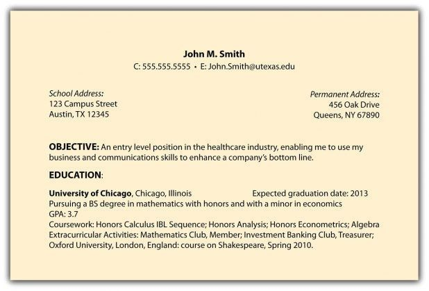 Objective For General Resume, objective for resumes. resume ...