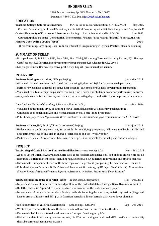 Marketing Database Analyst Sample Resume Digital Marketing Analyst - Marketing Database Analyst Sample Resume