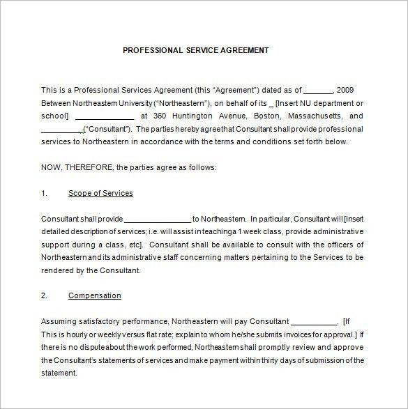 Maintenance Service Contract Sample | haadyaooverbayresort.com