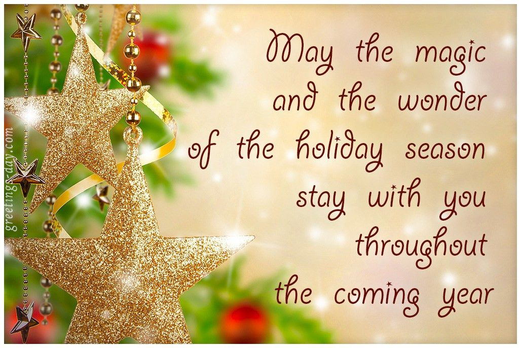 Holiday Greeting Message. Longer Corporate Holiday Card Messages ...