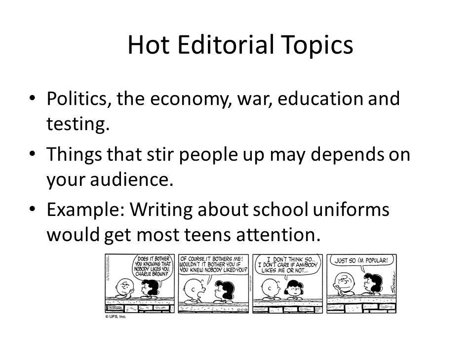 What is an Editorial? Informational Text. What is an Editorial? An ...