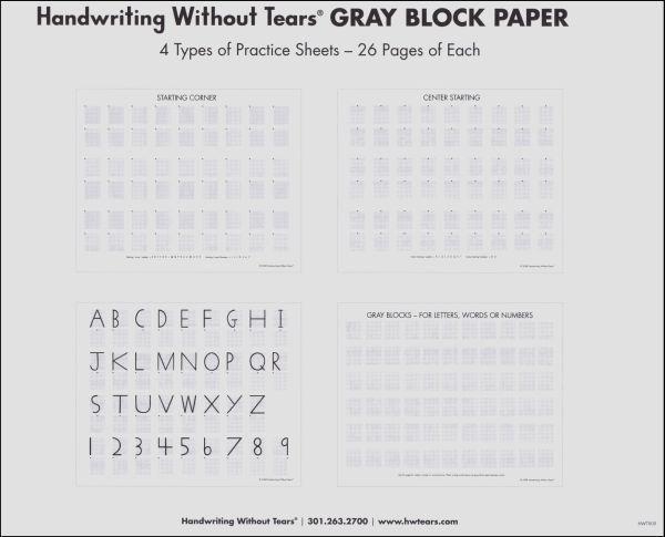Gray Block Paper (006541) Details - Rainbow Resource Center, Inc.