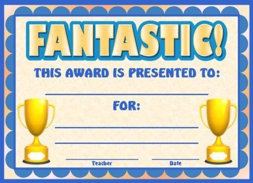 Free Printable Award Certificates | Blank Certificates