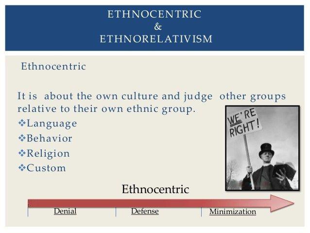 Ethnocentrism & Ethnorelativism