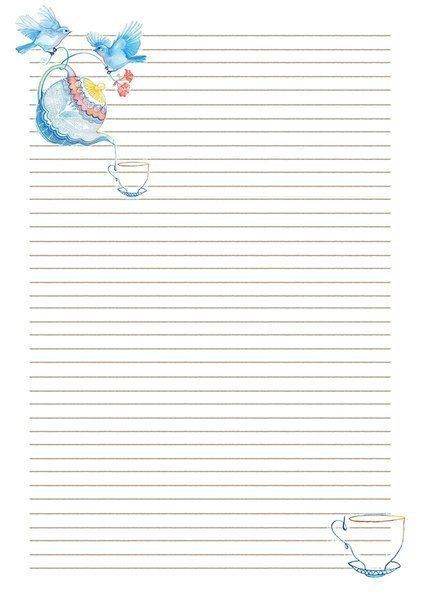 1049 best stationery images on Pinterest | Writing papers, Recipe ...