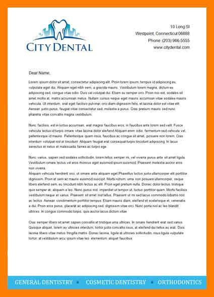 7+ letterhead example | protect letters