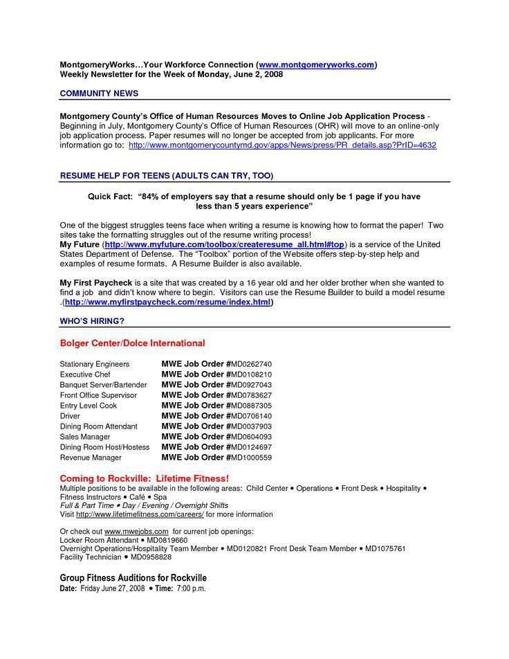 My First Resume Template. Teen Resume Template | Resume Templates ...