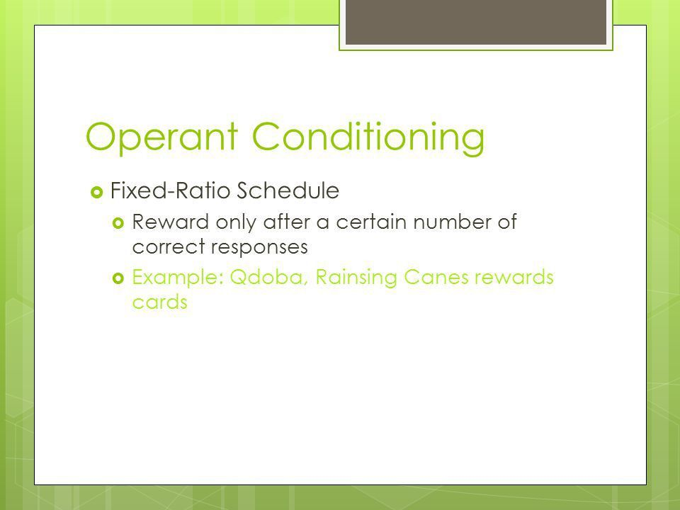 Operant Conditioning Unit 3- Module 15 notes. - ppt video online ...