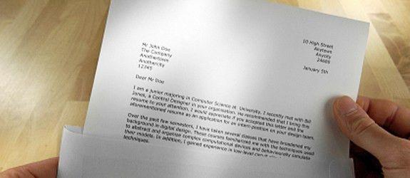 CV /Covering Letter Template – Salaam Jobs