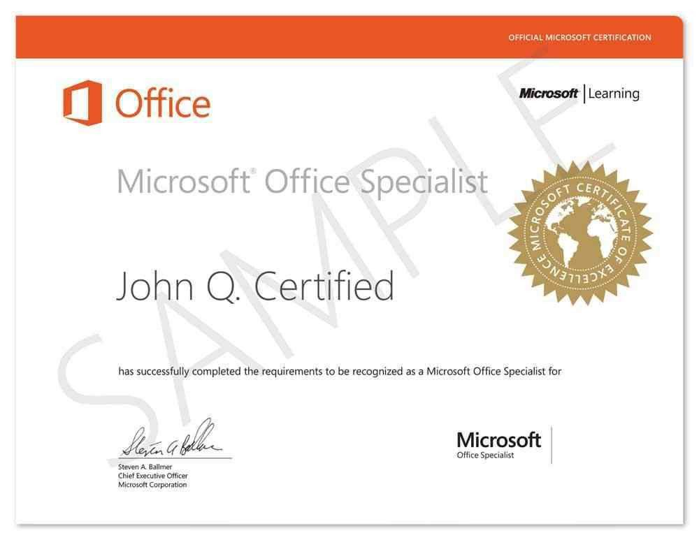 Microsoft Office Specialist (MOS) || 360 Technology box