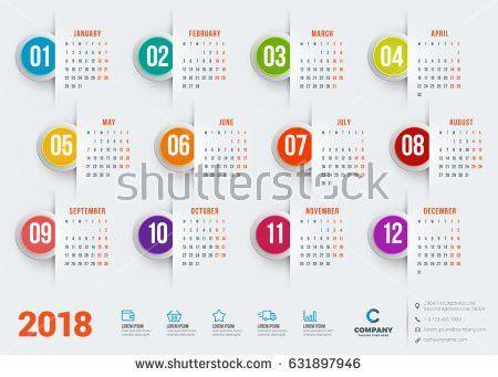 Calendar Sample Design 80 | Samples.csat.co