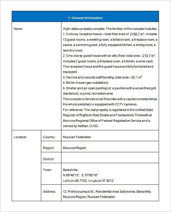Investment Proposal Template – 9+ Free Word, Excel, PDF Format ...