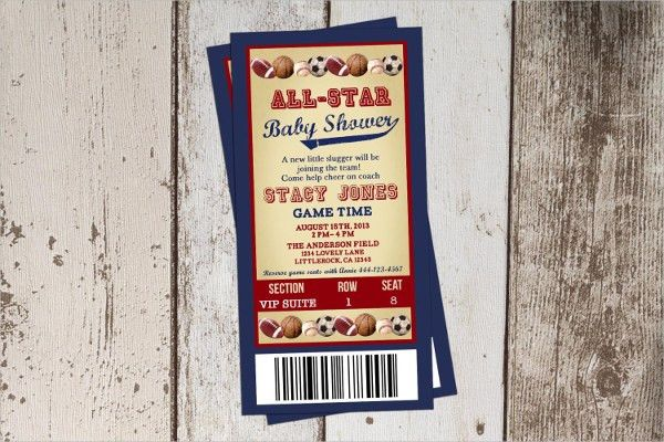 Printable Ticket Template - 8+ Free PSD, Vector AI, EPS Format ...