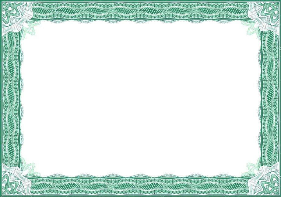 Free Vector Certificate Border