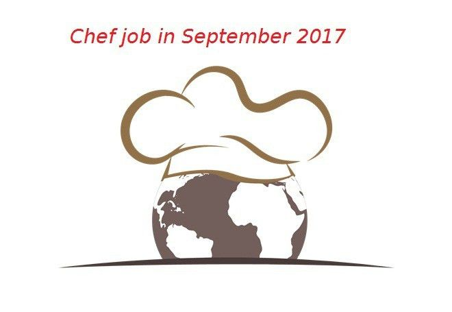 Chef jobs in september 2017 - thegastrojob.com