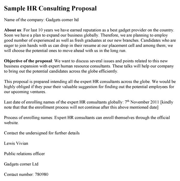 Consulting Proposal Template | cyberuse