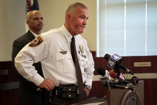 Police refuse to waive security guard rules to meet Ferguson ...