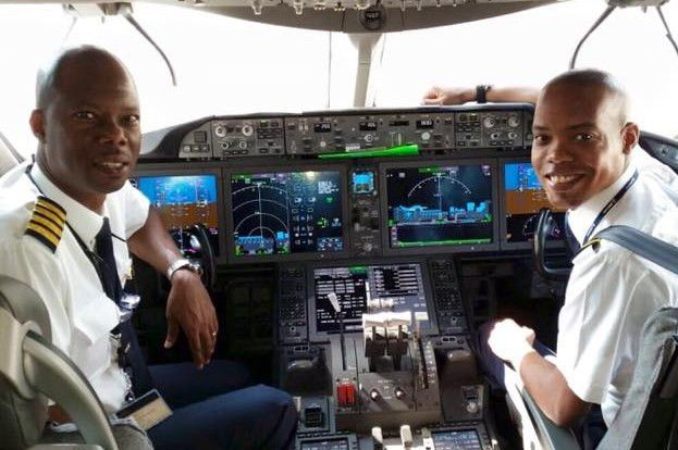 All Jamaican Crew Makes History Flying An Advanced Boeing B787 ...