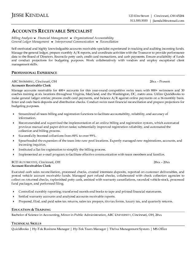 Pleasurable Design Ideas Accounts Payable Resume 15 Accounts ...