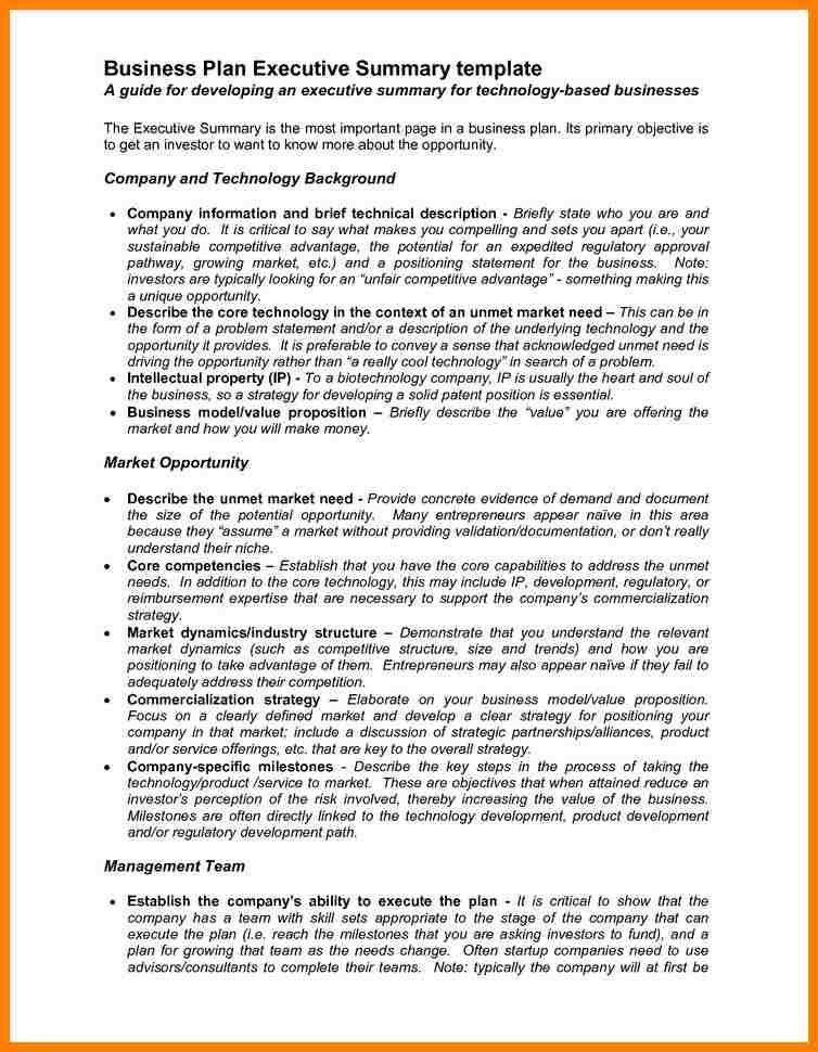 5+ executive summary business plan template | farmer resume