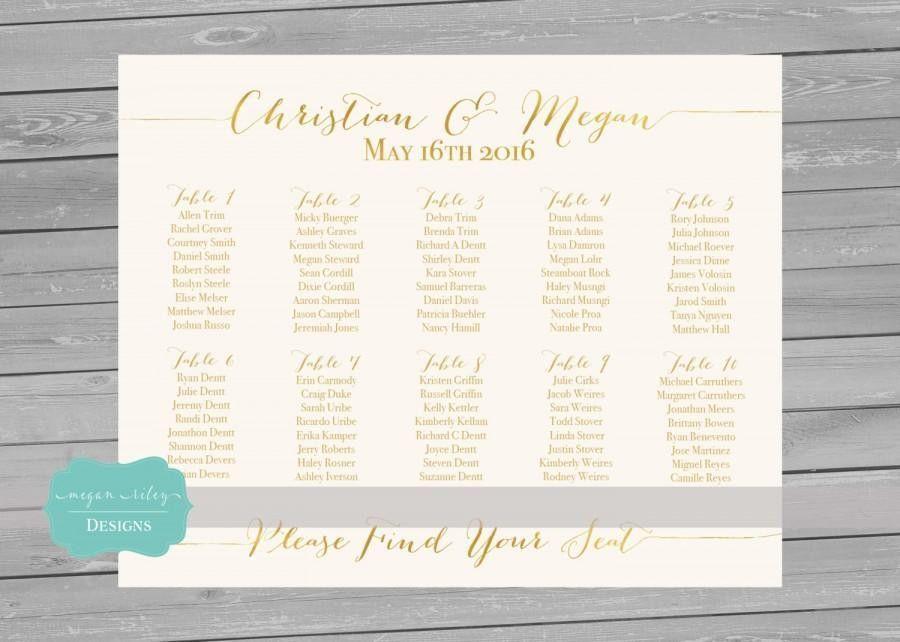 Wedding Ideas - Seating-chart - Weddbook