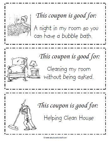 63 best kid coupons images on Pinterest | Kids rewards, Chore ...