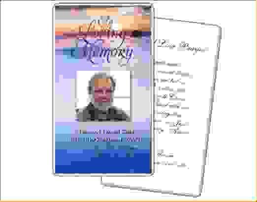 12 Funeral Card TemplateAgenda Template Sample | Agenda Template ...