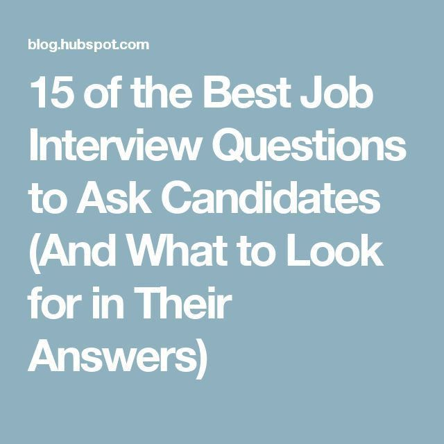 Best 25+ Interview questions ideas only on Pinterest | Questions ...