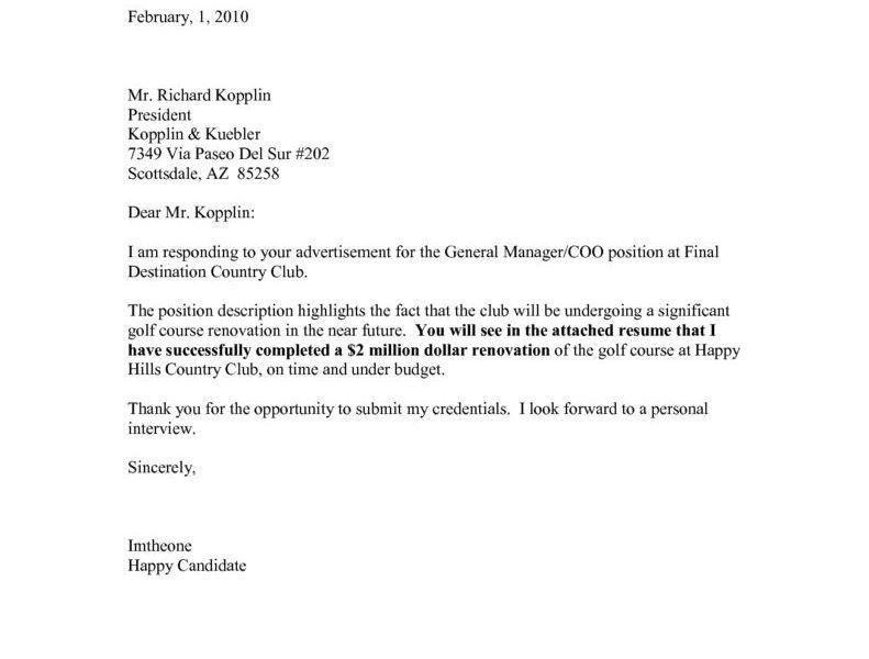 Enjoyable Inspiration Ideas Generic Cover Letter For Resume 8 Do ...