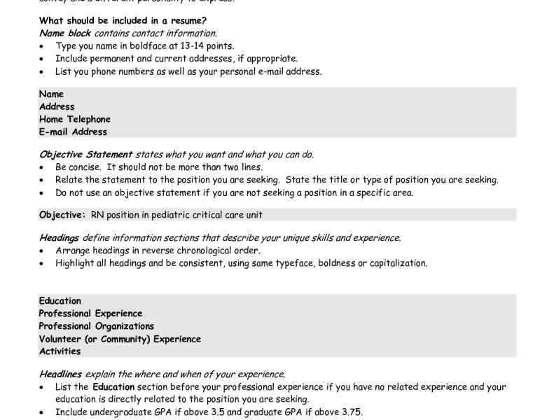 Unusual Ideas Best Resume Objective 12 Sample Of Statements - CV ...