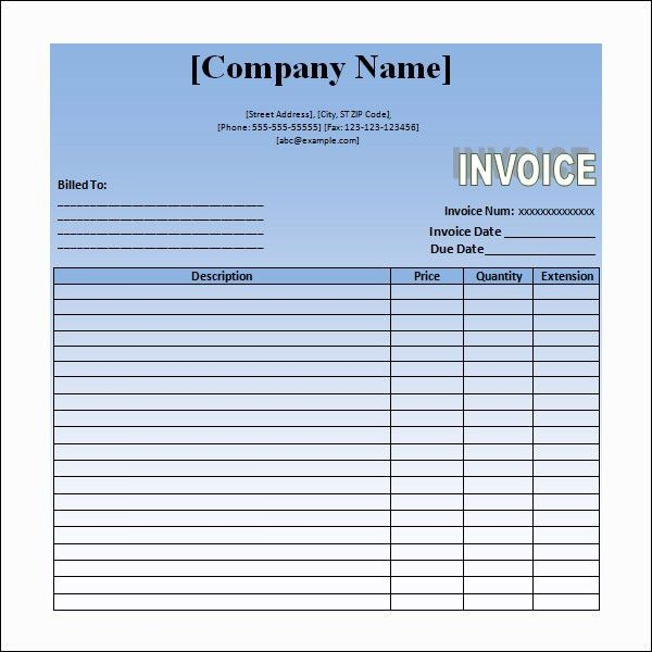 Sample Invoices Hotel Service Invoice Sample Download ...
