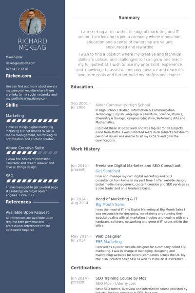 Web Designer Resume 18 Web Developer Resume Sample - uxhandy.com
