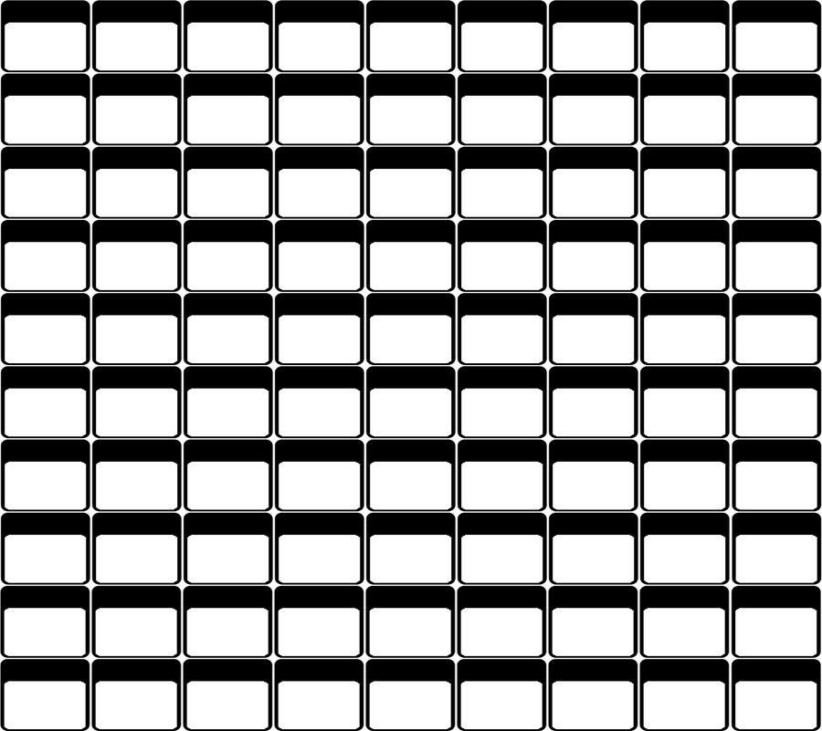 Blank Roster by ChunkyMonkey2o on DeviantArt