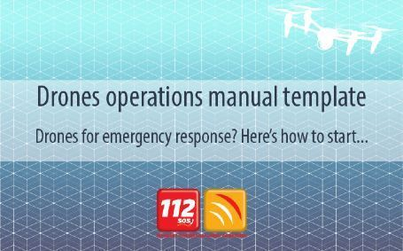 EENA - 'Drones operations manual' template now available!