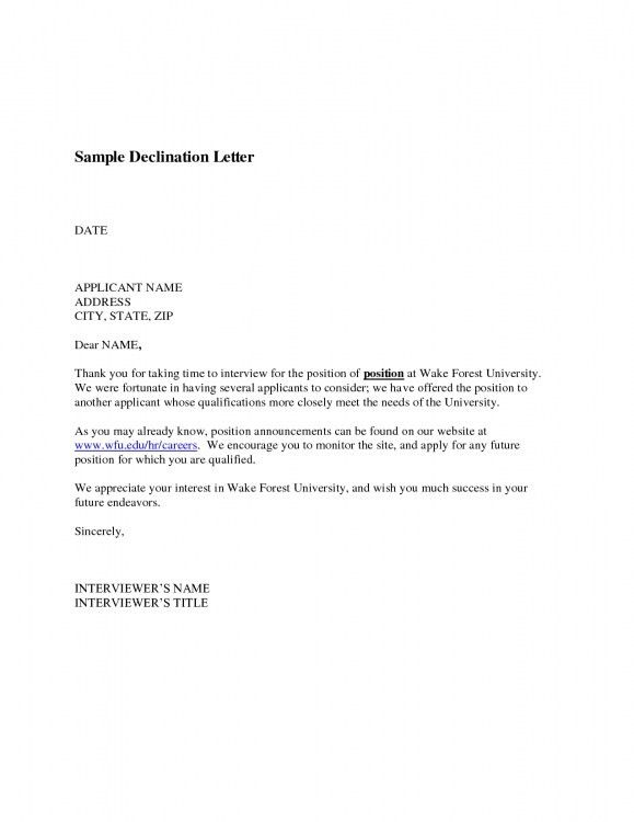 Title For Cover Letter Examples