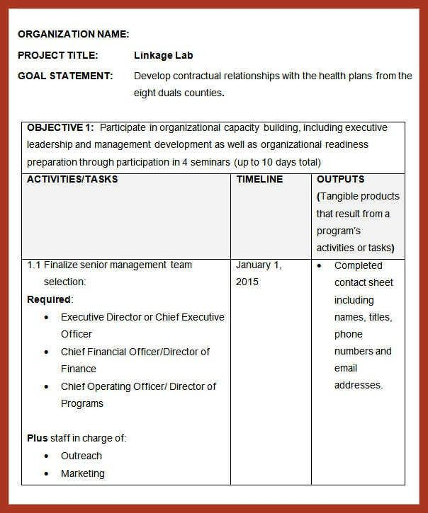 Scope Of Works Template. 7 scope of work template ...