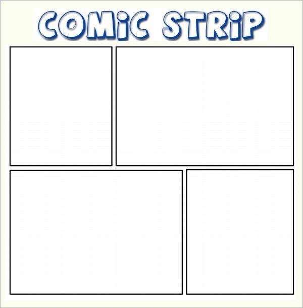 Comic Strip Template | ebook