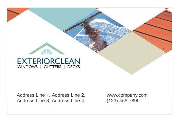 Window Cleaning & Pressure Washing Print Template Pack from Serif.com