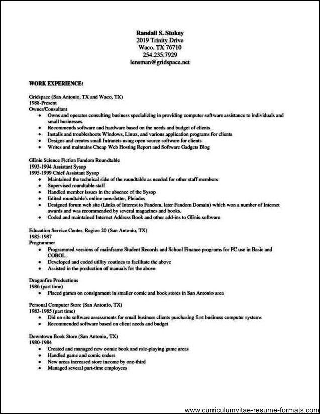 28 free resume templates for openoffice free open office resume