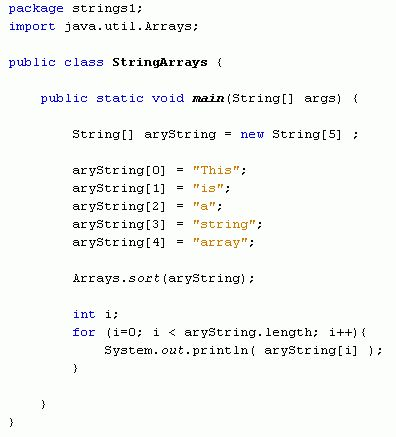 Java For Complete Beginners - arrays and strings