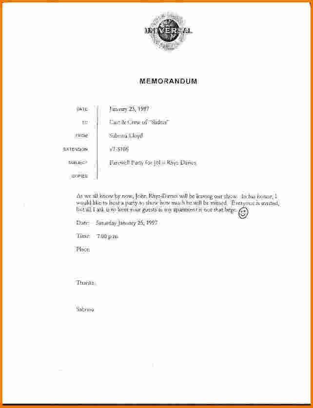 Interoffice Memorandum Format [Nfgaccountability.com ]