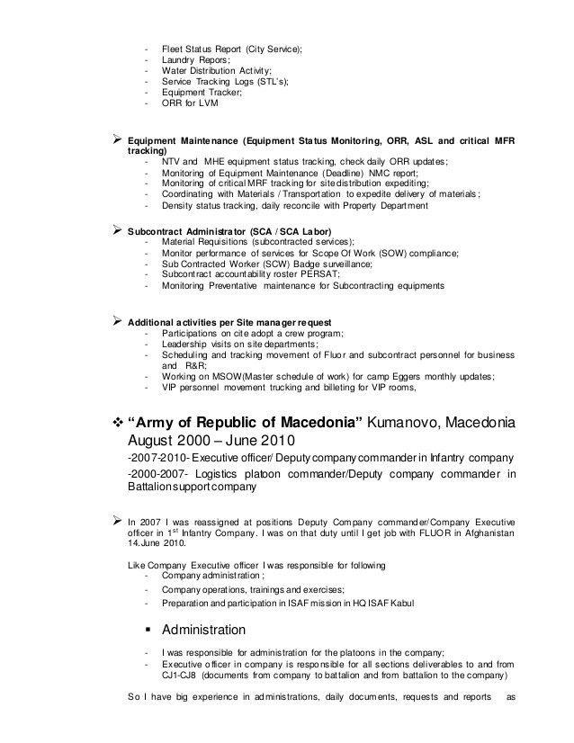 CV Resume Dejan Mladenovski 1 Jan 15 2014