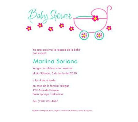 Baby Shower Invitations in Spanish | Disney Baby