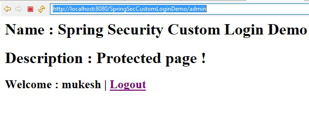 Spring Security Custom Login Form Example | Java Web Tutor