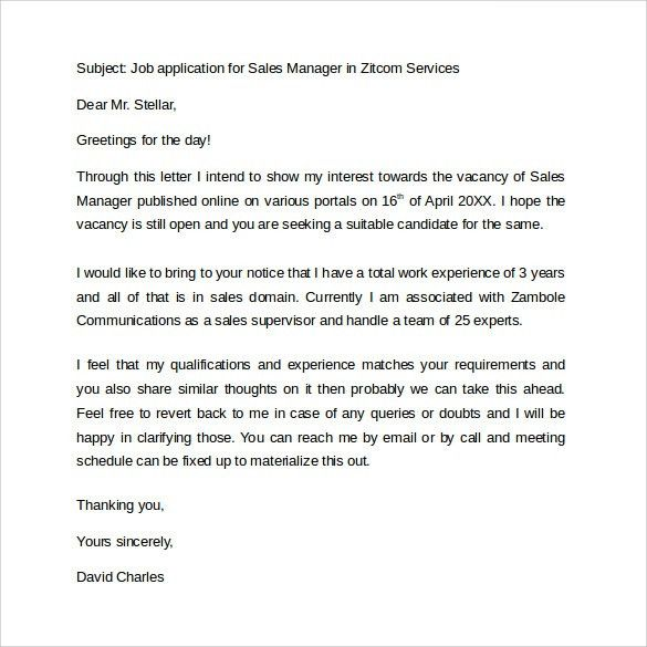 Business Letter Examples. Sample Business Letter | Sample Letter ...