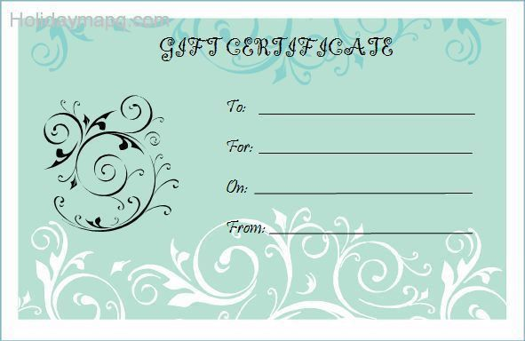 Free gift certificate template - Map - Holiday - Travel ...