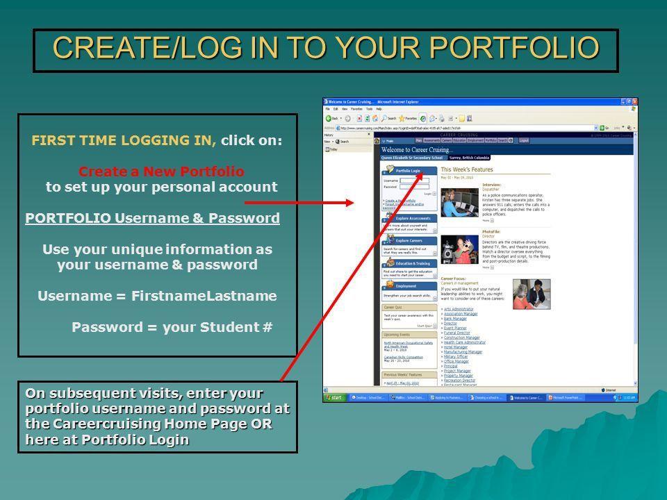 Career Cruising Resume Builder Login. digitial resource career ...
