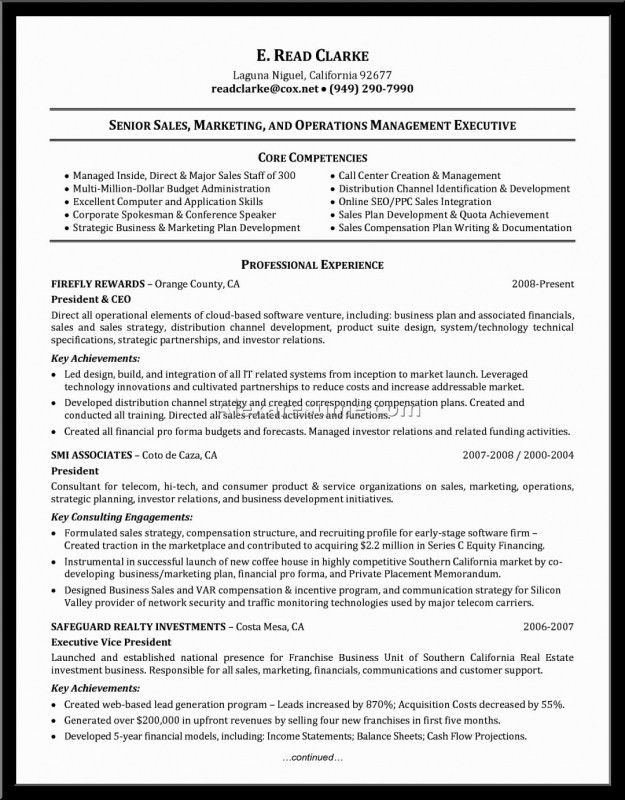 Core Competencies Examples For Resume | Samples Of Resumes