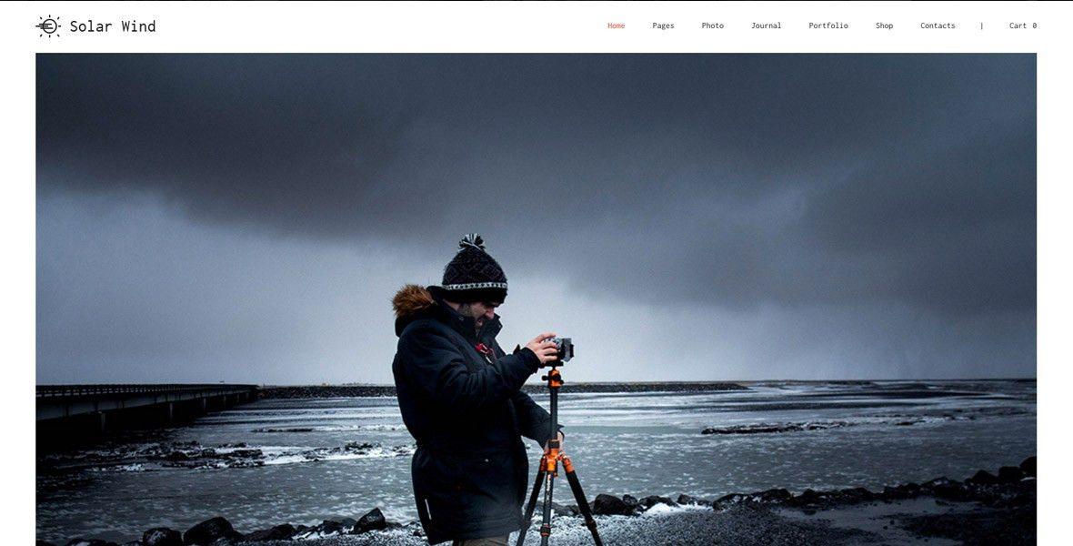 Best WordPress Photography Themes & Templates - Acoda